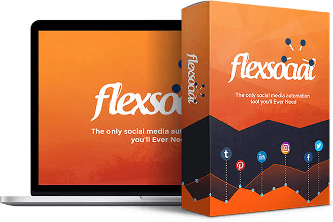 FlexSocial Software Box